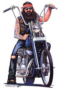 Atuendo Biker