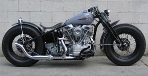 Harley Davidson estilo Bobber