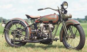 """Harley Davidson """"J"""" de 1925"""