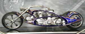 Motocicleta Toobad de Arlen Ness