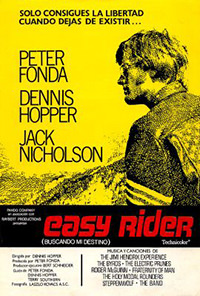 Cartel de la pelicula Easy Riders