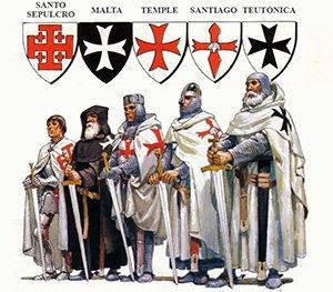 Ordenes militares y sus cruces