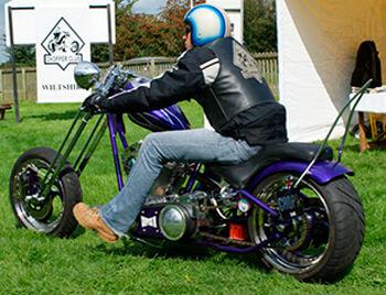 Biker del National Chopper Club